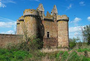 Le Breuil-sous-Argenton - The Chateau of L'Ebaupinay