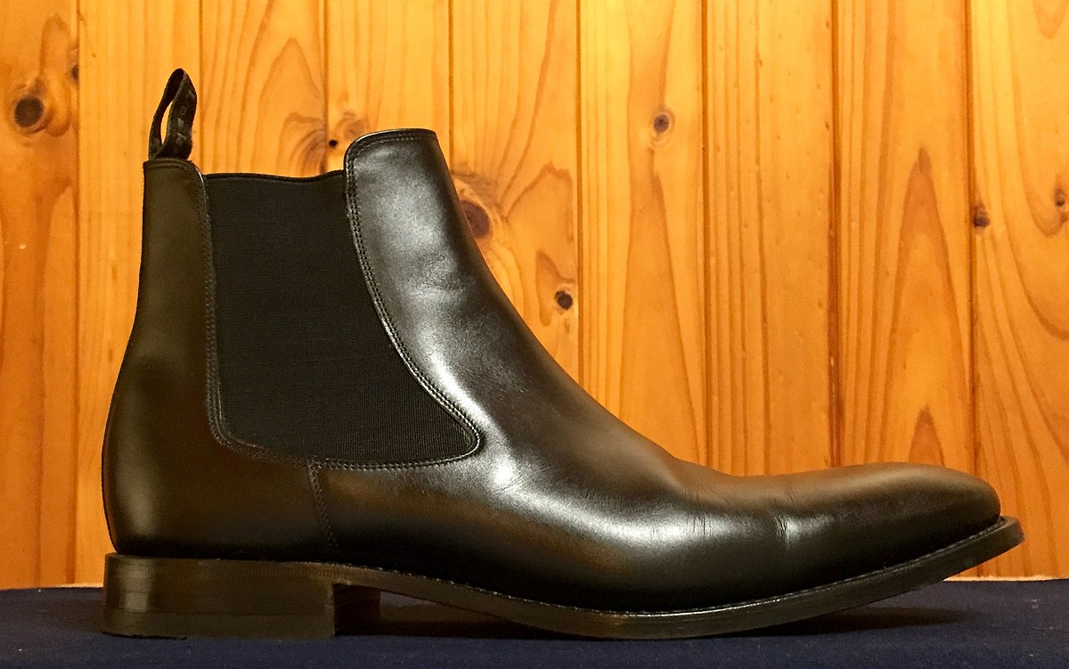 Mens Leather Chelsea Shoes
