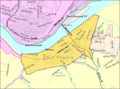 Chester WV 2000 Census reference map.png