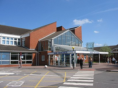 S44 Bus Time >> How to get to Chesterfield Royal Hospital in Chesterfield ...