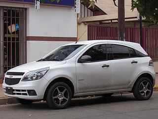 Chevrolet Agile subcompact car