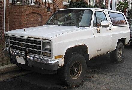 Chevrolet K5 Blazer - Wikiwand