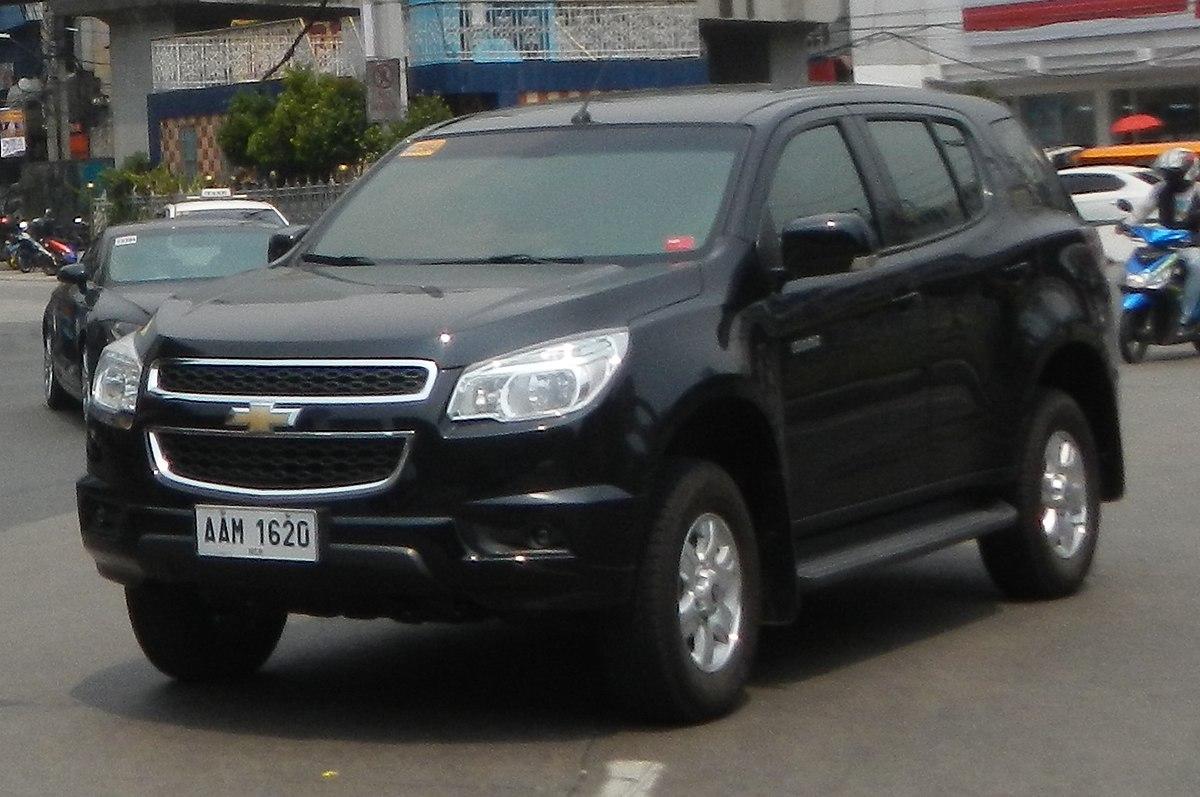 Chevrolet TrailBlazer – Wikipédia, a enciclopédia livre