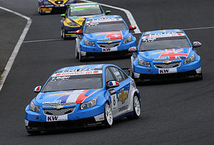 RML Group - Yvan Muller won his second Drivers' Championship and Chevrolet won the Manufacturers' Championship for the first time in 2010.