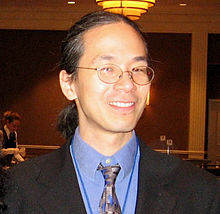 Ted Chiang en el World Fantasy Convention de 2007