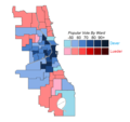 Chicago Mayoral Results by Ward, 1923.png