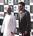 Chief Guest Actor Anil Kapoor and Music Maestro Ilayaraja, at the inauguration of the 46th International Film Festival of India (IFFI-2015), in Panaji, Goa on November 20, 2015.jpg
