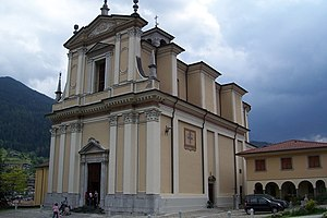Borno, Lombardy - Parish church of S Martin and John
