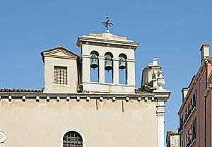 Scuola di San Giorgio degli Schiavoni - Bell gable