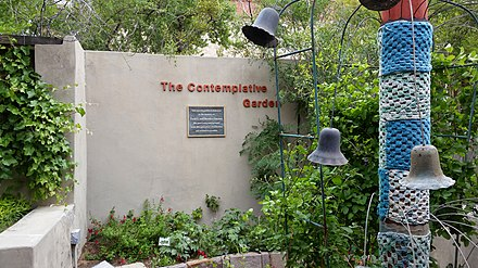 The Contemplative Garden at the Chihuahuan Desert Gardens. Chihuahuan desert garden at UTEP.jpg