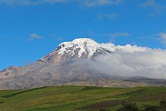 Chimborazo Province - Chimborazo volcano