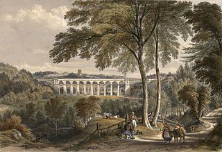Chirk Viaduct - Shrewsbury & Chester Railway
