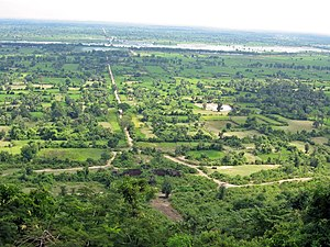 Phnom Chisor - Phnom Chisor geography