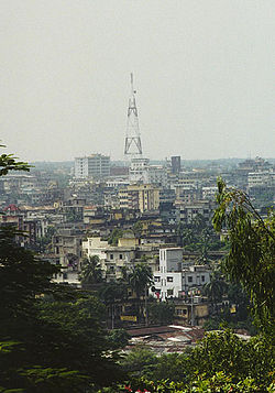 Skyline of Chittagong City