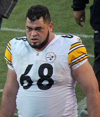 Chris Kemoeatu - Kemoeatu during the 2011 season.