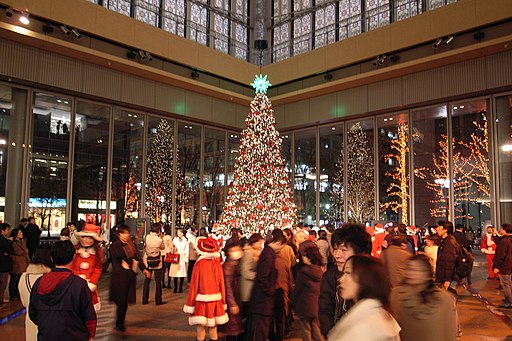 Christmas tree in marunouchi