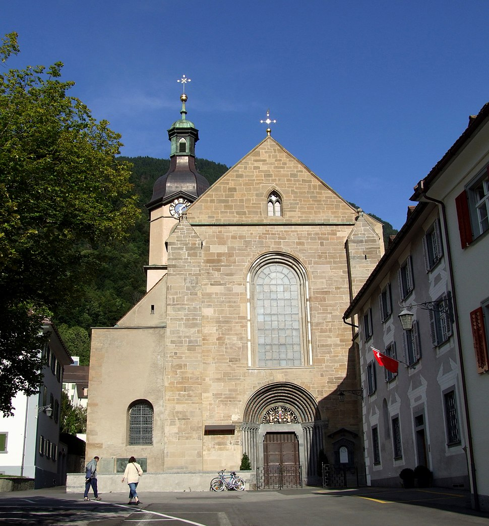 Chur, St. Maria Himmelfahrt, Vorderseite