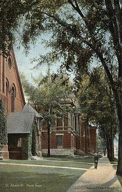 Church Street, St. Albans, VT