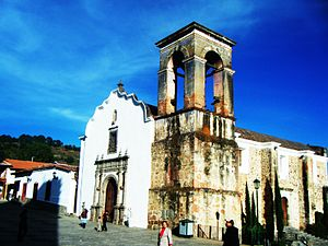 Colonial era church in Tapalpa.