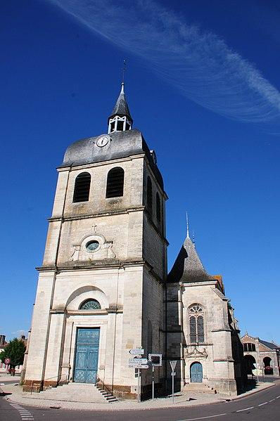 Church of Dienville at the Parc Naturel de la Foret D'Orient