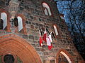 Church of St. George in Sopot, Poland after president's plane crash 2010 - 4.jpg