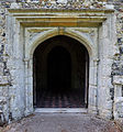 Church of St Andrew, Good Easter, Essex, England - south porch portal.jpg