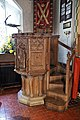 Church of St Andrew, Nuthurst, West Sussex - pulpit 01.jpg