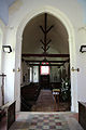 Church of St Christopher, Willingale, Essex, England - interior nave from chancel.JPG