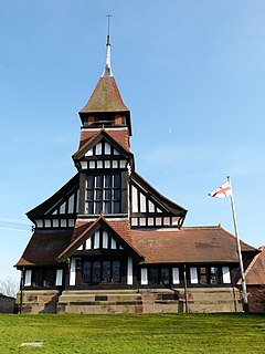 High Legh village in the United Kingdom