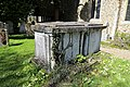 Church of St Martin White Roding Essex England - table tomb.jpg