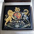 Church of St Nicholas, Ash-with-Westmarsh, Kent - George III coat of arms.jpg