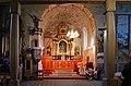Church of the Exaltation of the Holy Cross (interior), Płaza village, Chrzanów County, Lesser Poland Voivodeship, Poland.jpg