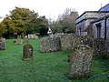 Churchyard and Holy Cross church, Chiseldon, Swindon - geograph.org.uk - 1119742.jpg