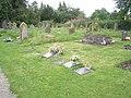 Churchyard at St Mary, Bromfield - geograph.org.uk - 1443102.jpg