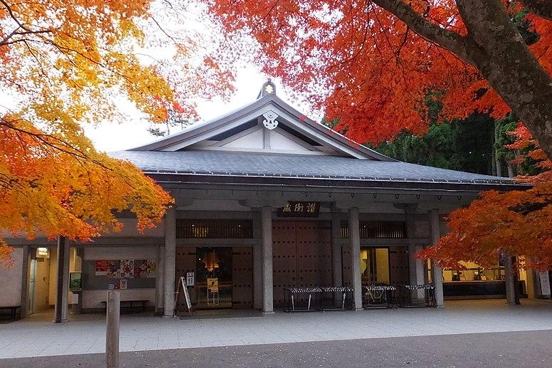 Chuson-ji Sankozo Museum 01