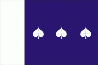 Cidlina (Třebíč District) - Image: Cidlina CZ flag