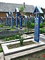 Cimitirul Vesel - Săpânța, Maramureș - detalii 01.JPG