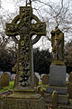 City of London Cemetery and Crematorium - grave cross monument.jpg
