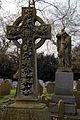 City of London Cemetery and Crematorium - grave cross monument.jpg