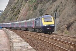 Class 43 on the sea wall at Teignmouth (0174).jpg