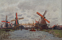 Claude Monet - Mills at Westzijderveld near Zaandam - Google Art Project.jpg