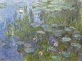 Claude Monet Nymphéas Seerosen 1915 Neue Pinakothek Munich München.JPG