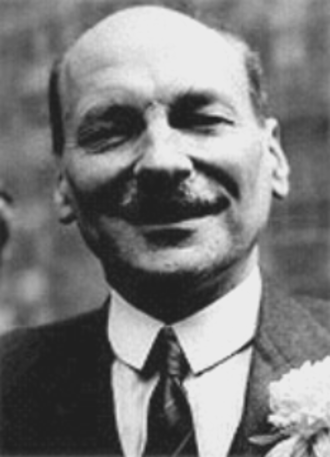 Attlee ministry - Image: Clement Attlee