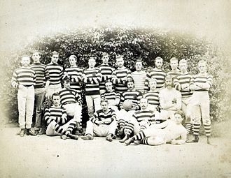 Clifton Rugby Football Club - The Clifton RFC team for the 1874–75 season