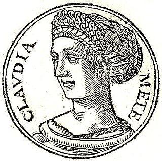 Clodia (wife of Metellus) Roman aristocrat