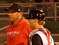 Coach Jeff Ware Tries to Get Things Settled Down 008 (27008965135) (cropped).jpg