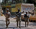 Coalition Soldiers patrolling Arab Jabour, Iraq during Operation Marne Torch.jpg