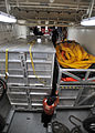 Coast Guard, other environmental response agencies prepare equipment for oil-recovery training 120123-G-HE371-002.jpg