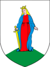 Coat of Arms of Lachčycy, Belarus.png