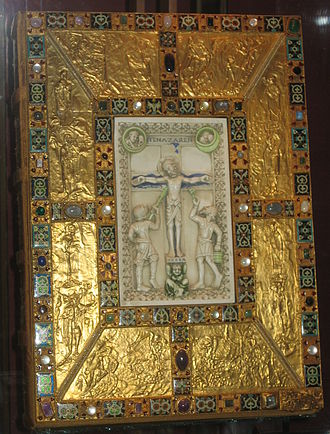 Codex Aureus of Echternach - The front cover